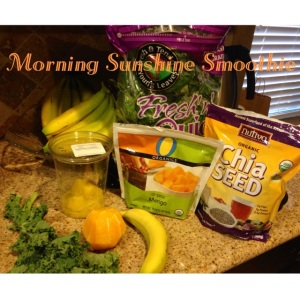 Morning Sunshine Smoothie